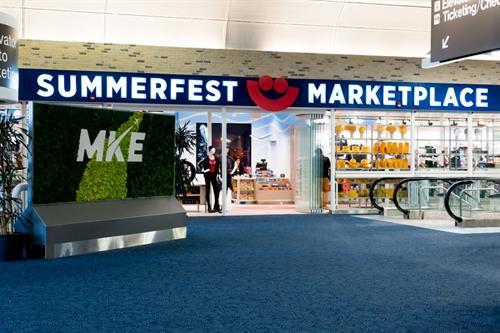 Summerfest Marketplace at MKE