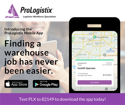 ProLogistix Mobile App