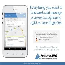 ResourceMFG Mobile App