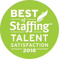 Best of Staffing - Talent Satisfaction 2018