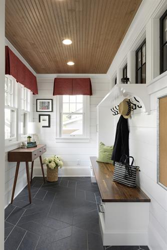Traditional Charm in St. Paul. Mudroom addition
