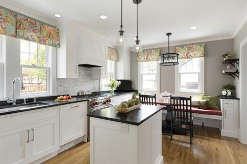 Traditional Charm in St. Paul. Kitchen and Mudroom addition