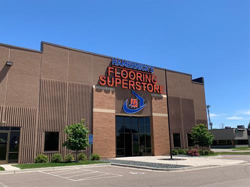 Hamernick's Flooring Superstore NEW HOPE is NOW OPEN!