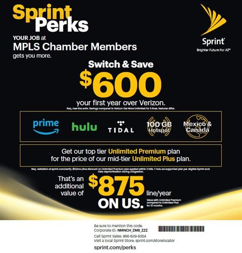 Switch to Sprint and get these perks