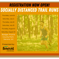 Socially Distanced Trail Runs With Race Day Events