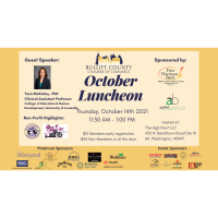 2021 October Monthly Chamber Networking Luncheon