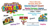 Family FunFest hosted by the GBCYFL