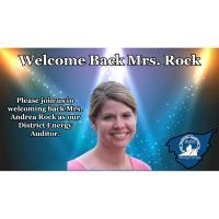 Mrs. Andrea Rock as Energy Auditor for Bullitt County Public Schools
