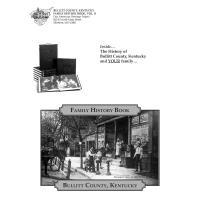 Order form of the Bullitt County, KY Family History book