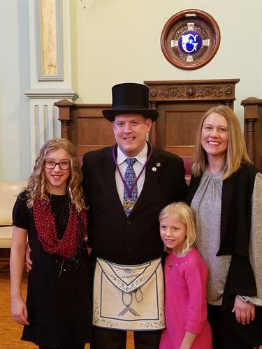 Master Bricker and Family