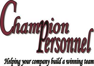 Champion Personnel, Inc.