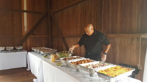 Catering at the Bern Farm