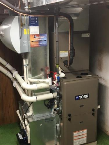 Gas fired furnace