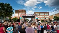 The Downtown Alive free outdoor concert series brings a renewed vibrancy to downtown Reading: http://downtownalivereading.com/