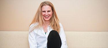 hOMe co-founder Caroline Culverhouse Neithamer, MSS, LSW, E-RYT