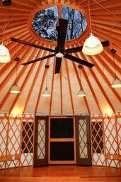 hOMe Yurt Interior