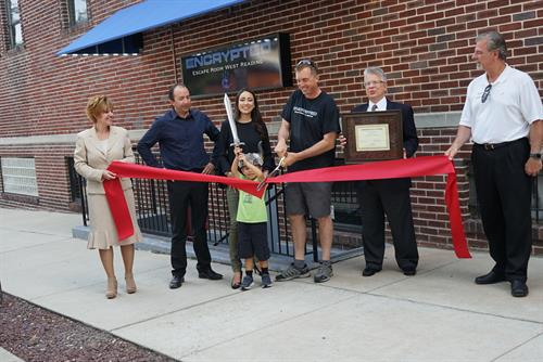 Encrypted Escape West Reading Ribbon Cutting Ceremony with the Greater Reading Chamber Alliance