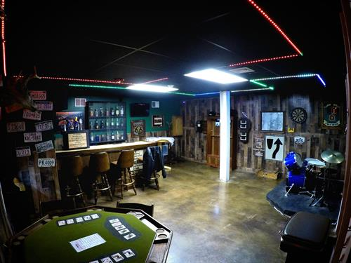 The Biker's Revenge room challenges 2-10 game players to find evidence to bust the bad biker gang in 60 minutes.