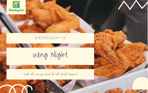 Wednesday is Wing Night!