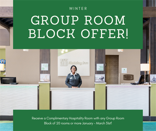 Group room booking deal