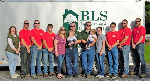 The BLS Landscaping & Construction Family