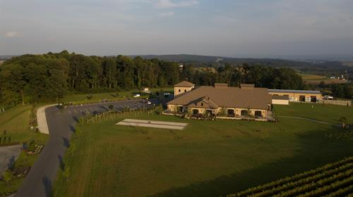 Folino Estate Vineyard & Winery, Kutztown - All phases of land surveying & planning, including vineyard planting layout