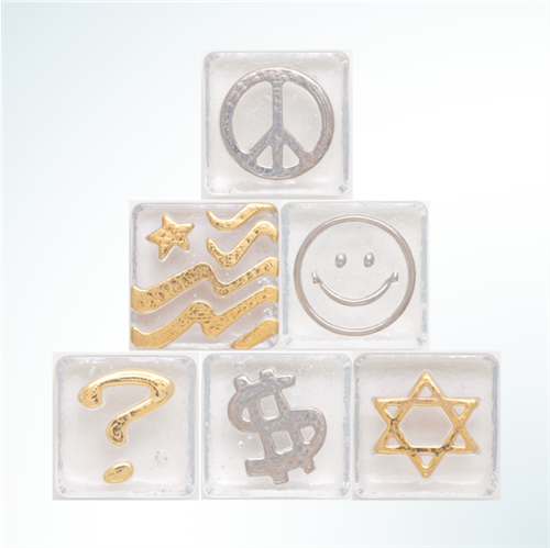 Items Like These and More are Available in Gold or Platinum Finish
