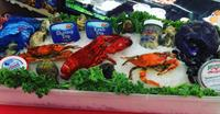 Lobsters, Crabs, Seafood Dips, Soups and Salads