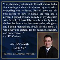 Antanavage Farbiarz, PLLC Testimonial