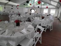 A Prom in our Chateau Tent at Green Valley. THE perfect and unique location for Proms, Weddings, Corporate Picnics and Outings.