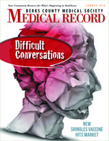 Medical Record, A Magazine for the Berks County Medical Society