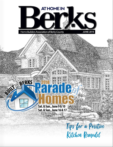 At Home in Berks, A Magazine for the Home Builders Association of Berks County