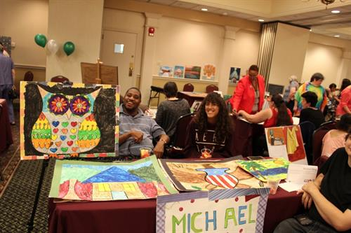 Annual Art Show for artists with disabilities