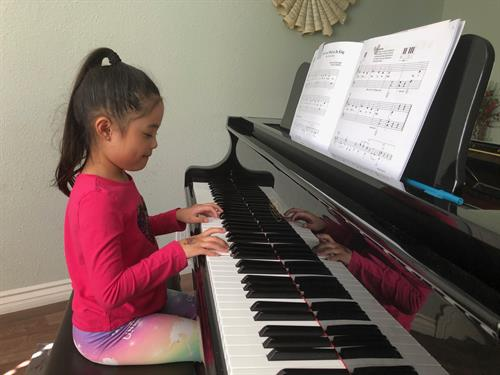 Children as young as 5 can start learning music.