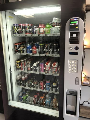 Downtown vending