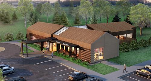 The Hospice Quinte Care Centre. Anticipated opening 2021 in Bayside, Ontario.
