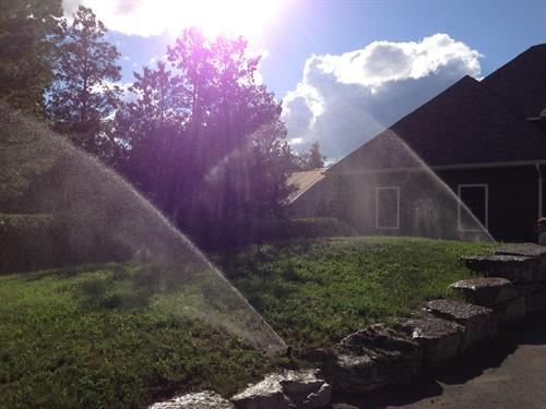 Sprinkler Systems - Irrigation