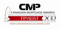 Nominated for National, Best Newcomer Mortgage Brokerage, 2012