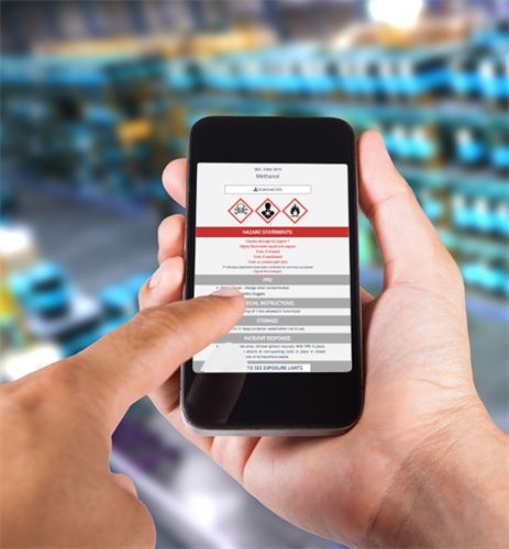 SDS RiskAssist brings chemical safety to your fingertips