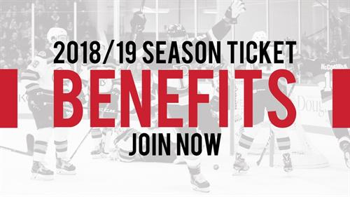 Learn about the benefits of becoming a season ticket holder and join today!