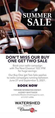 Great savings for the Summer with radio!!