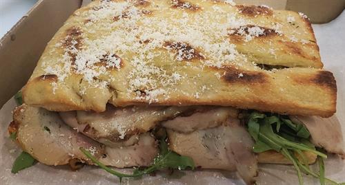 La Piggy porchetta panino