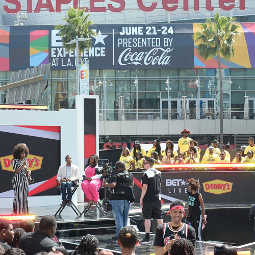 Event management and activation for Denny's at BETX Live