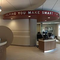 Battleground Financial Center - greeter's desk