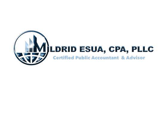 Mildrid Esua, CPA, PLLC.     Certified Public Accountants & Advisors