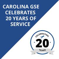 CAROLINA GSE CELEBRATES 20 YEARS OF SERVICE