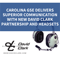 CAROLINA GSE DELIVERS SUPERIOR COMMUNICATION WITH NEW DAVID CLARK PARTNERSHIP AND HEADSETS