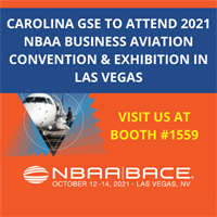 CAROLINA GSE TO ATTEND 2021 NBAA BUSINESS AVIATION CONVENTION & EXHIBITION IN LAS VEGAS