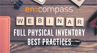 Webinar: Full Physical Inventory Best Practices