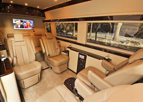 Our Mercedes Sprinter Van Interior